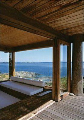 Finnish Summer House view