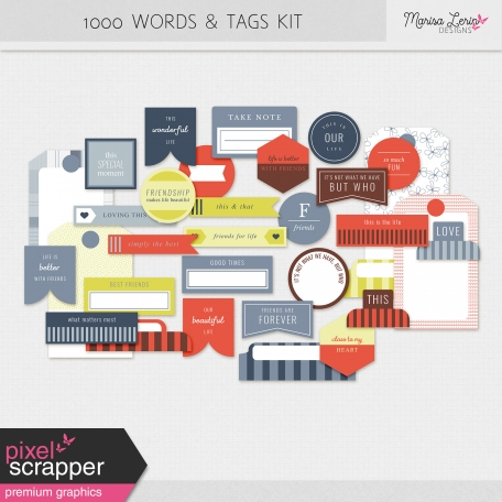 1000 Words & Tags Kit
