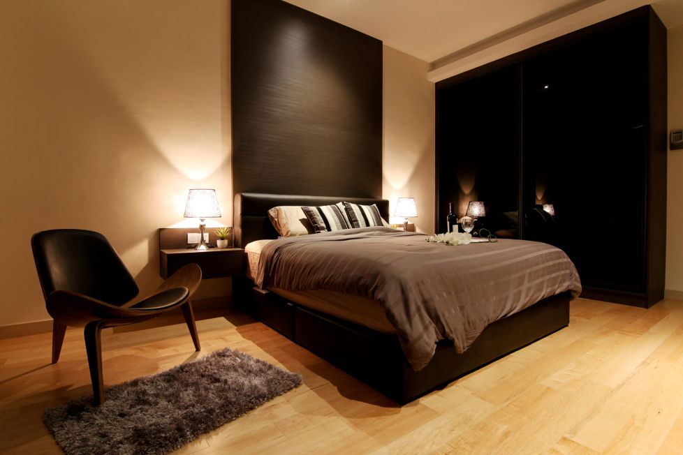 Bon Earth Tone Bedroom