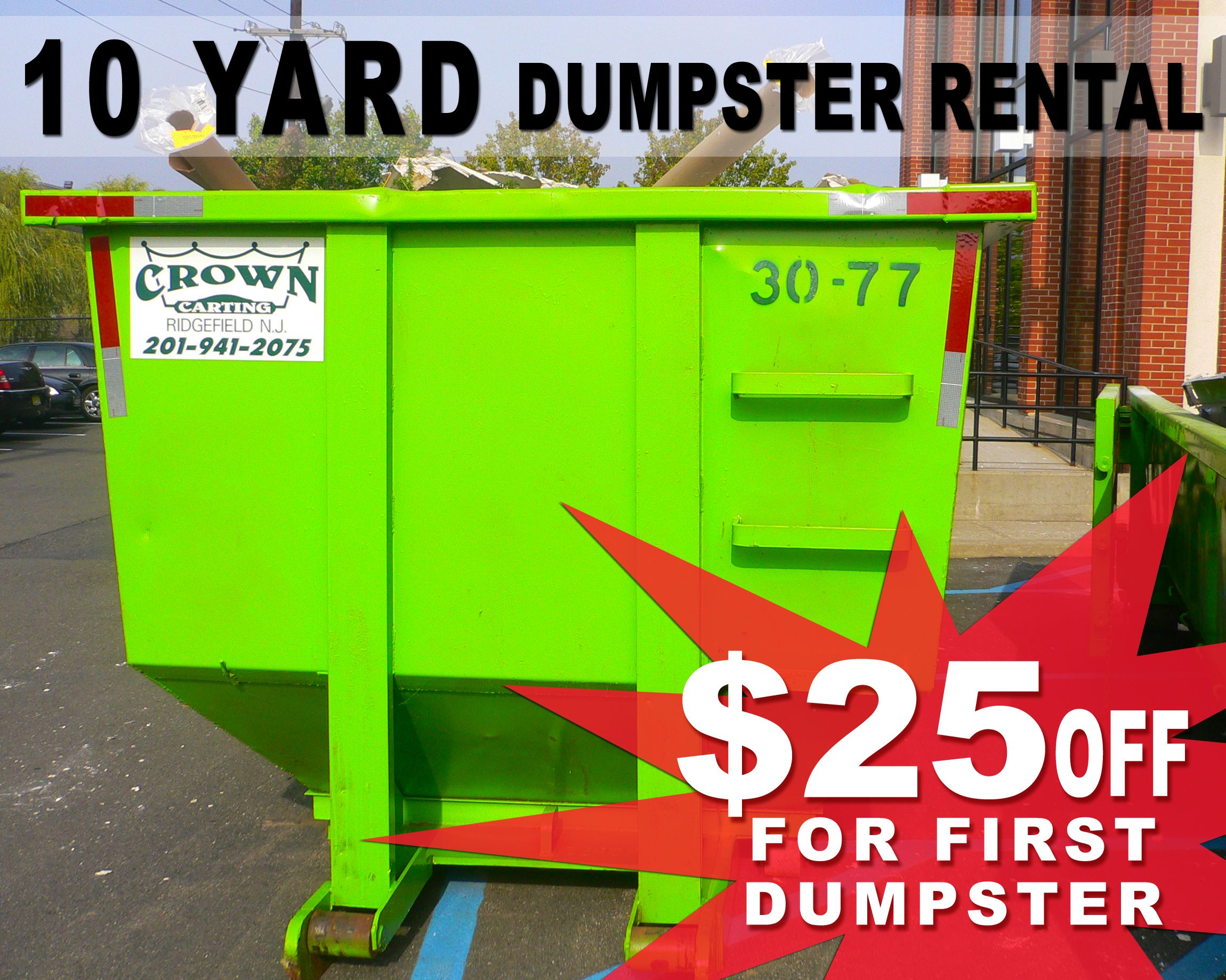 Our Wide Range Of Dumpsters For Rent Gives Us The Option To Have The Right Solution To Your Construction Applications We P Dumpster Rental Dumpster Demolition