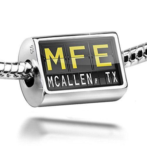 Sterling Silver Charm Mfe Airport Code For Mcallen Tx Bead Fit All European Read More Reviews Of The Product By Visiting Th Fashion Charms Bead Beads