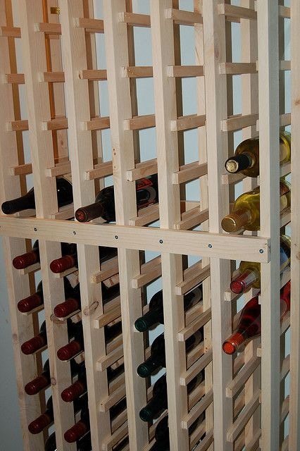 Diy Wine Rack Homemade Wine Rack Wine Rack Plans Built In Wine