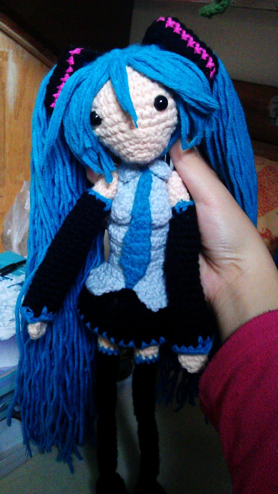 Crochet Fangirl: Hatsune Miku- Free Amigurumi Pattern | Free ...