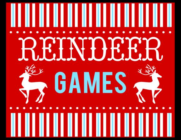 Free Reindeer Games Party Printables School Christmas Party Christmas Party Games Christmas Party