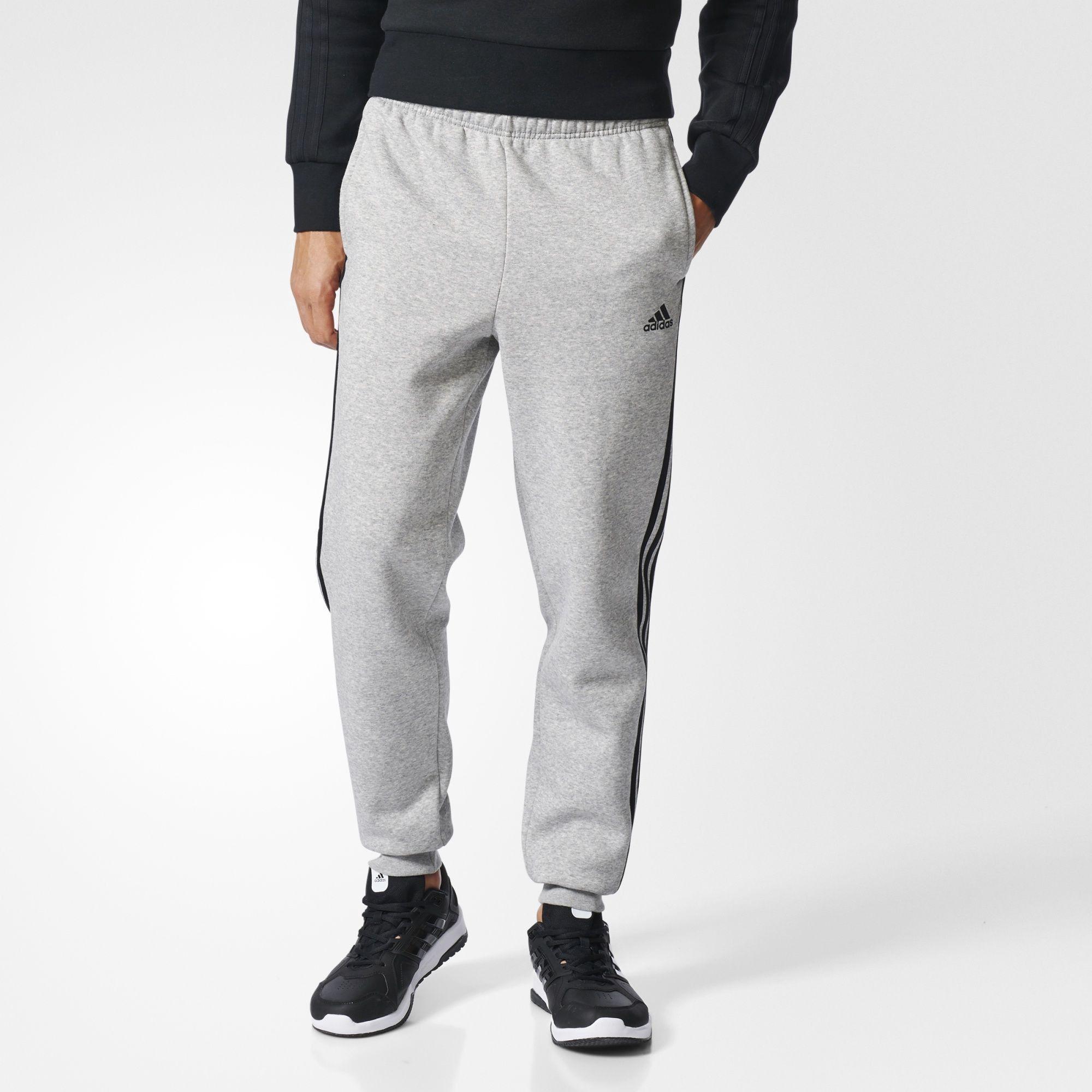 adidas essentials 3 stripes jogger pants