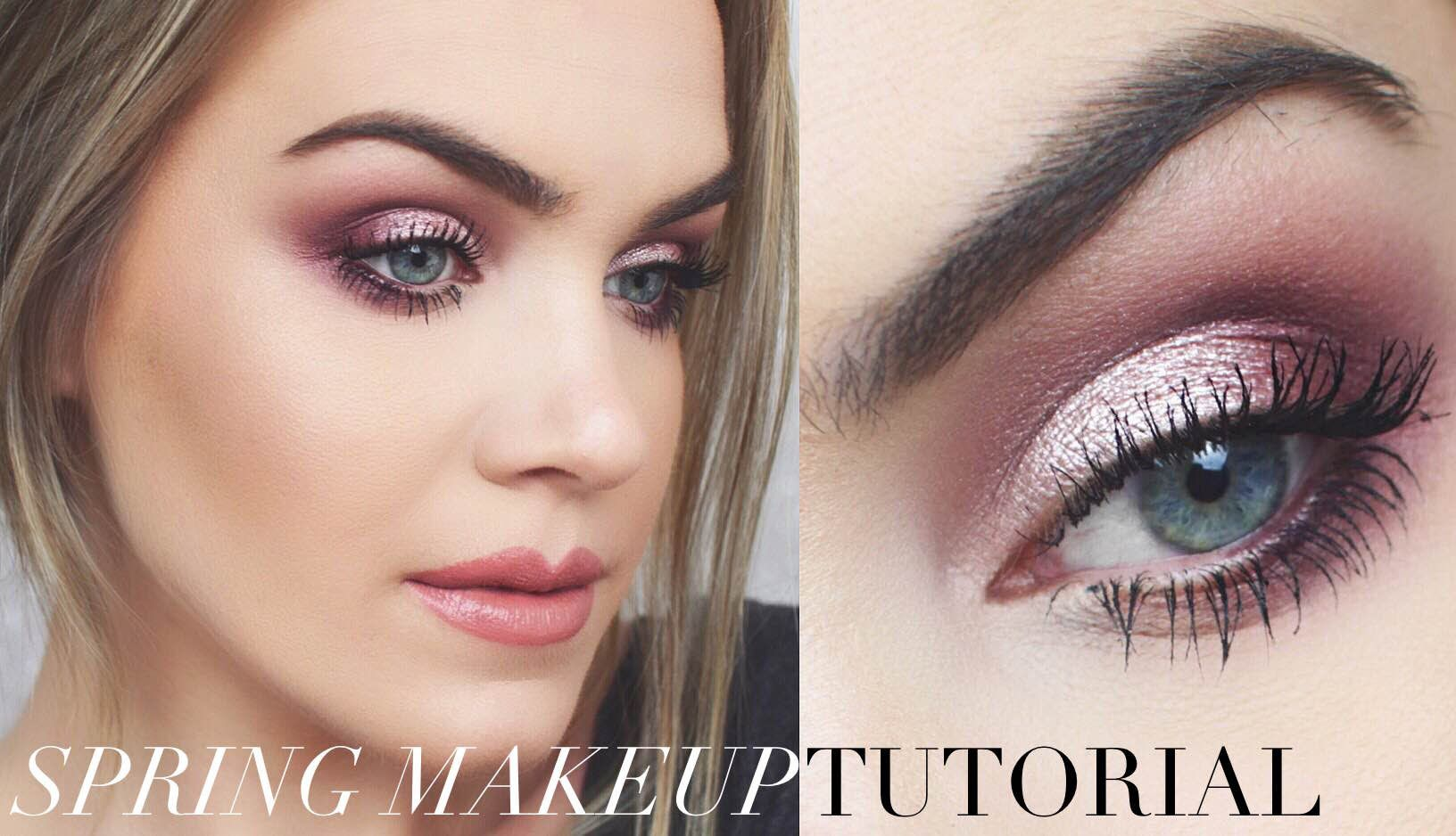 Berry Tone Spring Makeup Tutorial Winter To Spring