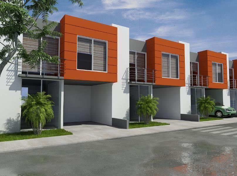 Casas en proyectos de vivienda de interes social buscar for Fachadas de viviendas