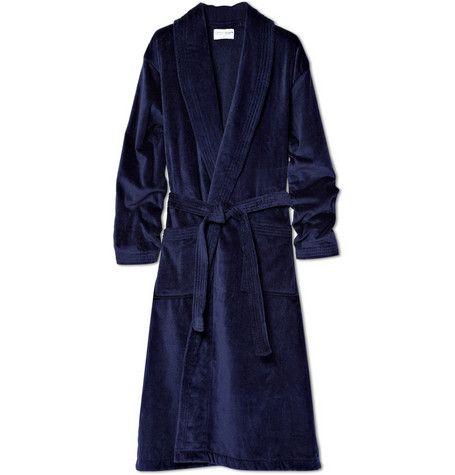 Luxury bathrobe.