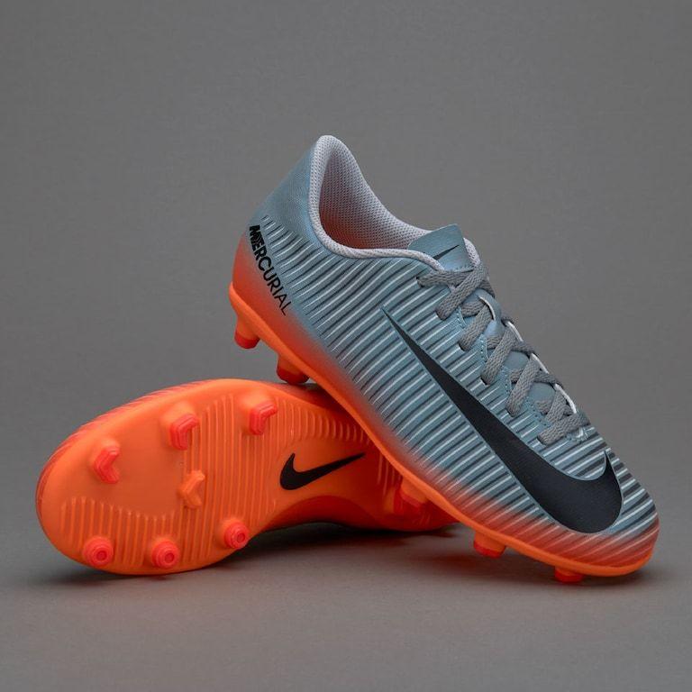 Rápido derrochador Práctico  Nike Kids Mercurial Vortex III Ronaldo FG - Cool Grijs/Metallic  Hematite/Wolf Grijs | Nike, Nike kids, Ronaldo