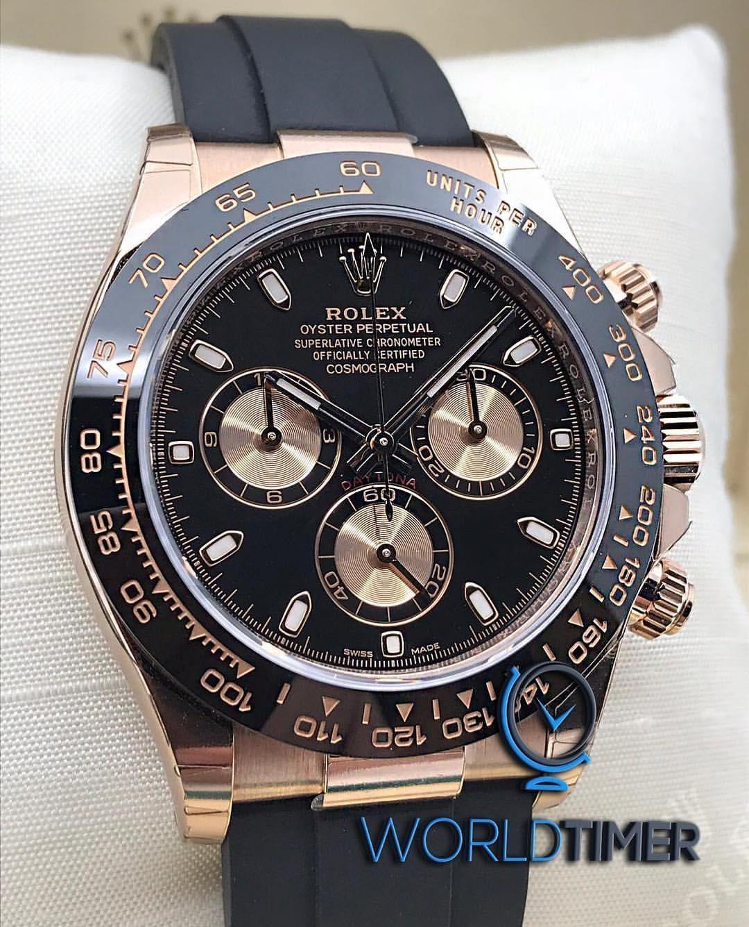 Rolex New Rose Gold Daytona 116515ln Black Dial 40mm Mens Watch Selling Price 售價 Hk 235 000 Rolexforum Rolexaholics Rolexwatch Rolexcollector Rolexlov In 2020