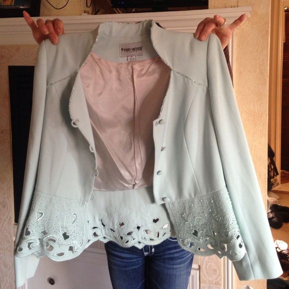 Pale green jacket NWT | Coats, Abs and Blazers