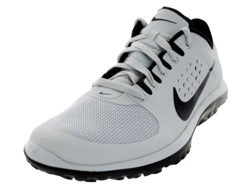 Nike Men's FS Lite Run Pure Platinum/Black Running Shoe 7.5 Men US Nike,