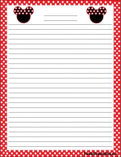 mickey stationery mickey mouse stationery free printable ideas from family shoppingbagcom