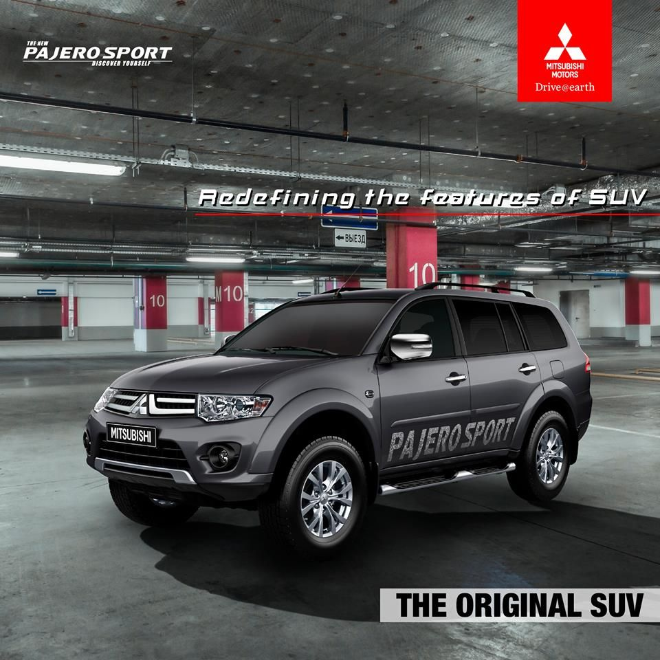 Redefining the features of suv the new mitsubishi pajero sport shakti motors book free test