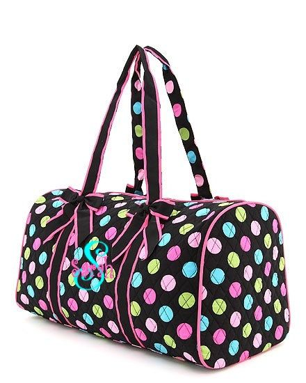 Personalized Duffel Bag Dance Or By Mauricemonograms On Etsy 39 00