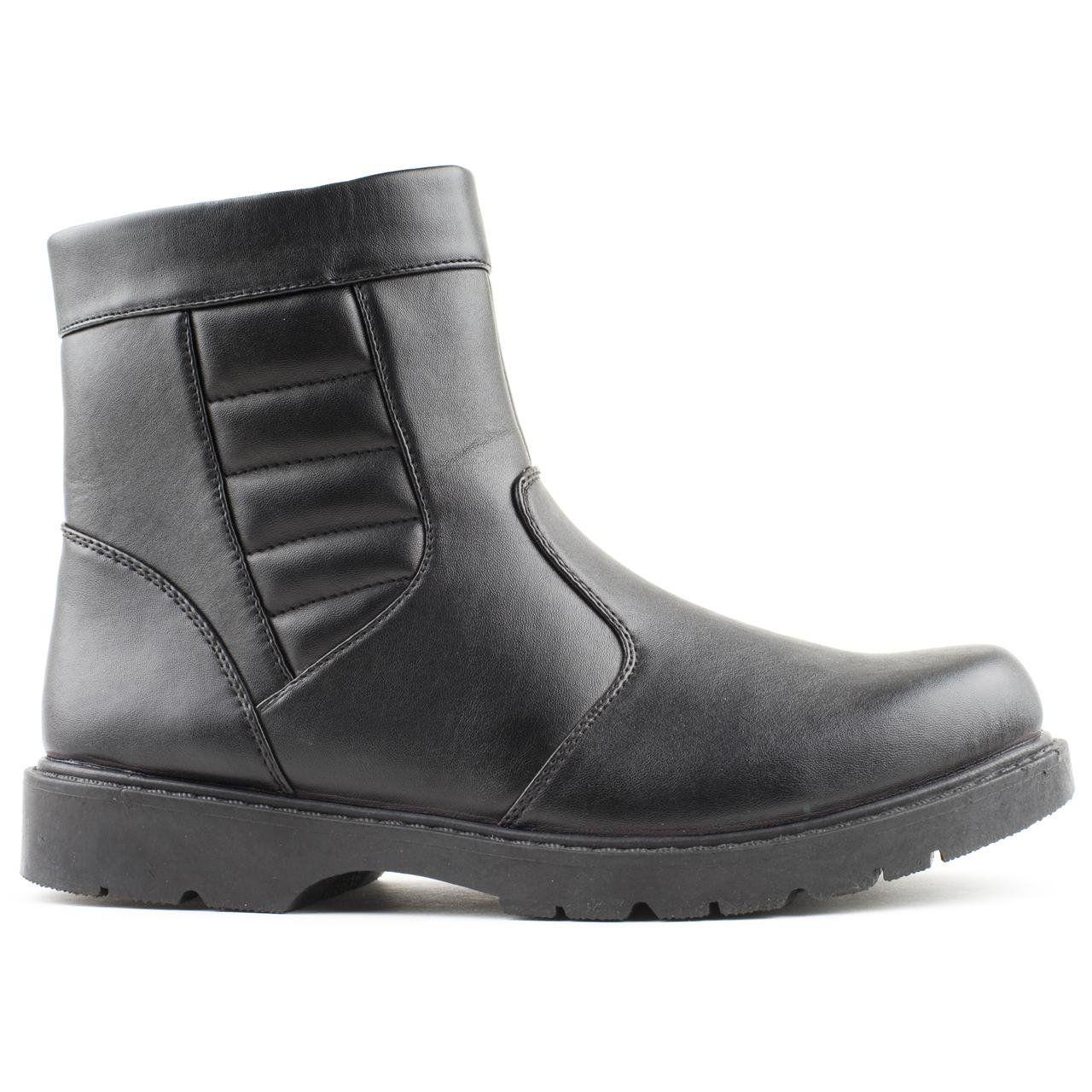 54219c17ebdf9 Caravelle Mens Brutus Black Casual Boots: Amazon.co.uk: Shoes & Bags ...