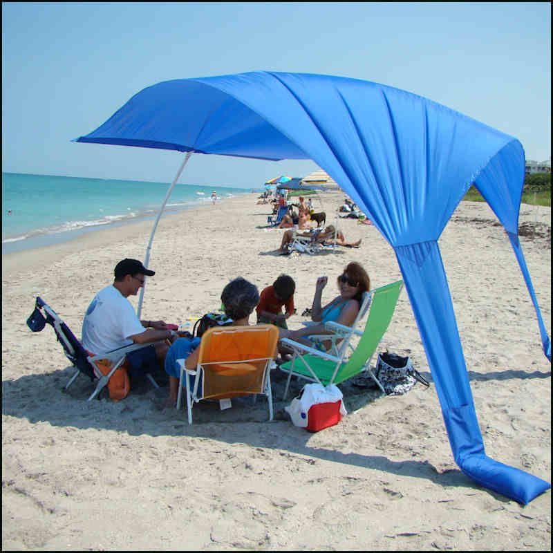 Beach Sails Are The New Umbrella As They Provide More Shade Do Not Away Portable Easy To Carry Quick Set Up Plus Made In Usa