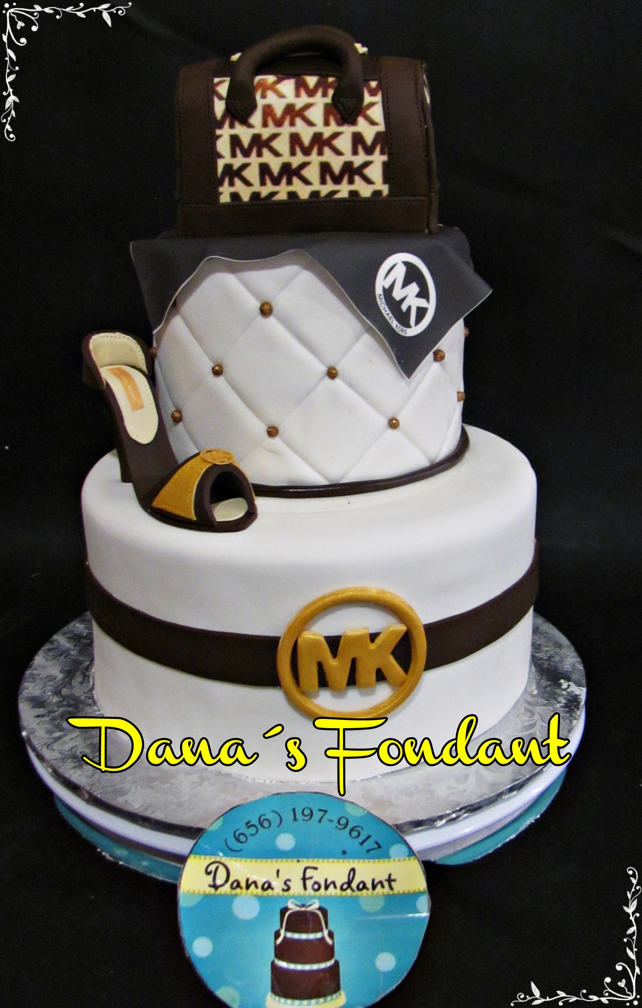 7334f6ae8 Michael Kors Cake   Michael Kors Handbag Cake.   Cake, Michael kors ...