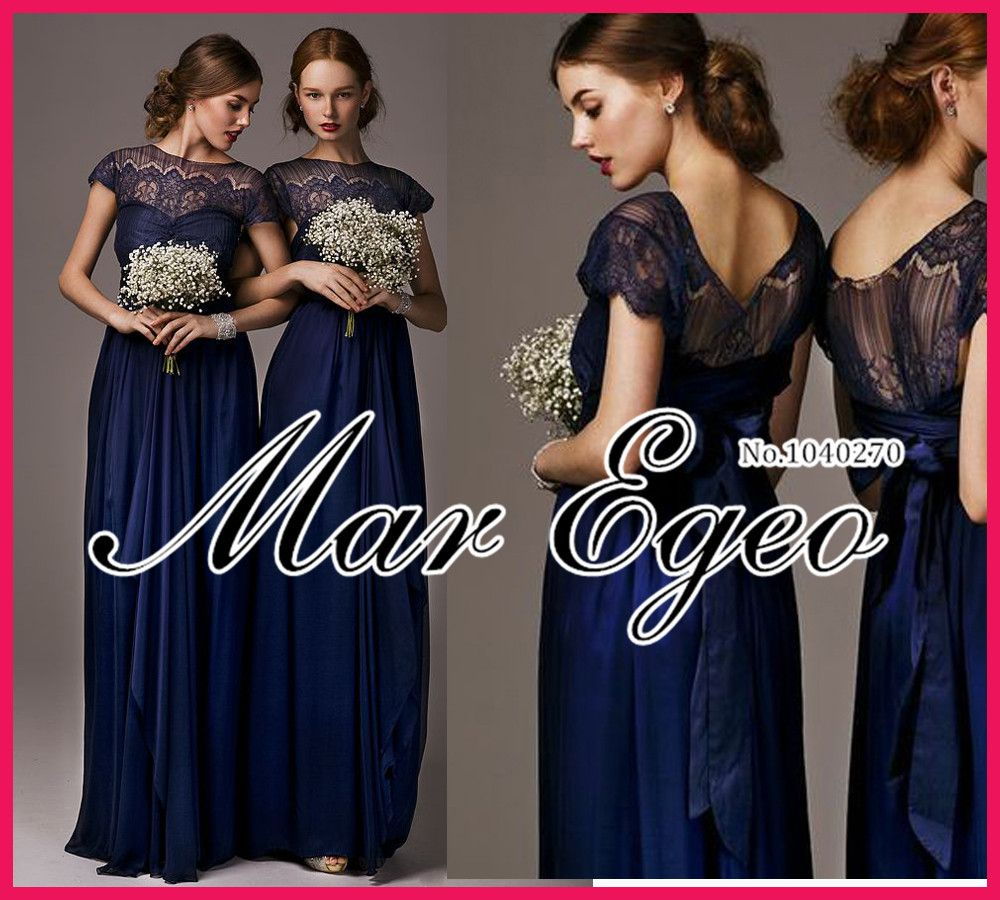 Dark blue lace bridesmaid dresses google search boda olgui