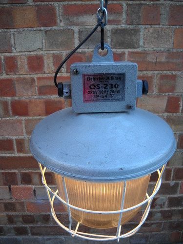 3#VINTAGE INDUSTRIAL CEILING LAMP ALUMINIUM STEEL GLASS 1960s. | eBay http://www.ebay.co.uk/itm/3-VINTAGE-INDUSTRIAL-CEILING-LAMP-ALUMINIUM-STEEL-GLASS-1960s-/181113603020?pt=UK_Antiques_AntiqueFurniture_SM=item2a2b3643cc