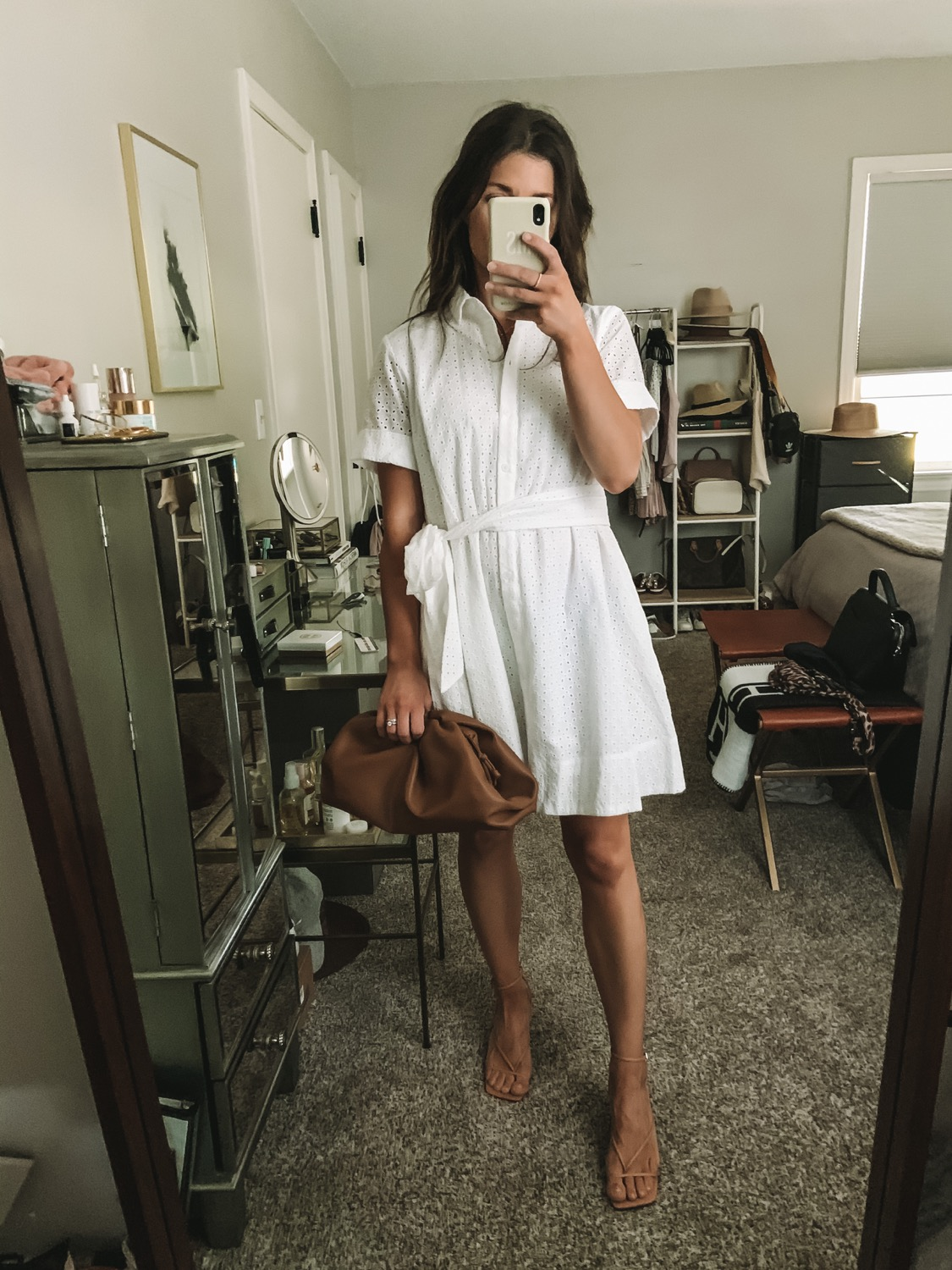 White Summer Dress White Dress Summer Birthday Outfit For Women Lace White Dress [ 1500 x 1125 Pixel ]