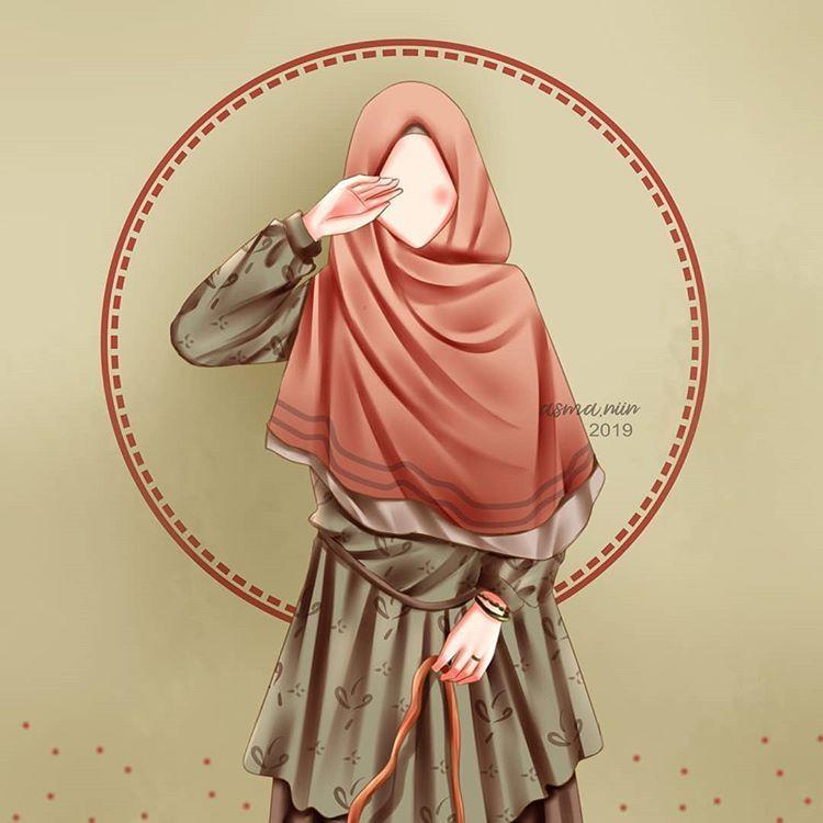 200 Ide Kartun Muslimah Kartun Seni Islamis Gambar