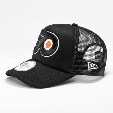 642f58be3e2 New Era NHL Oversized Team Philadelphia Flyers Trucker Cap Team Colour