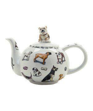 Look what I found on #zulily! Man's Best Friend 18-Oz. Teapot by Cardew Design #zulilyfinds