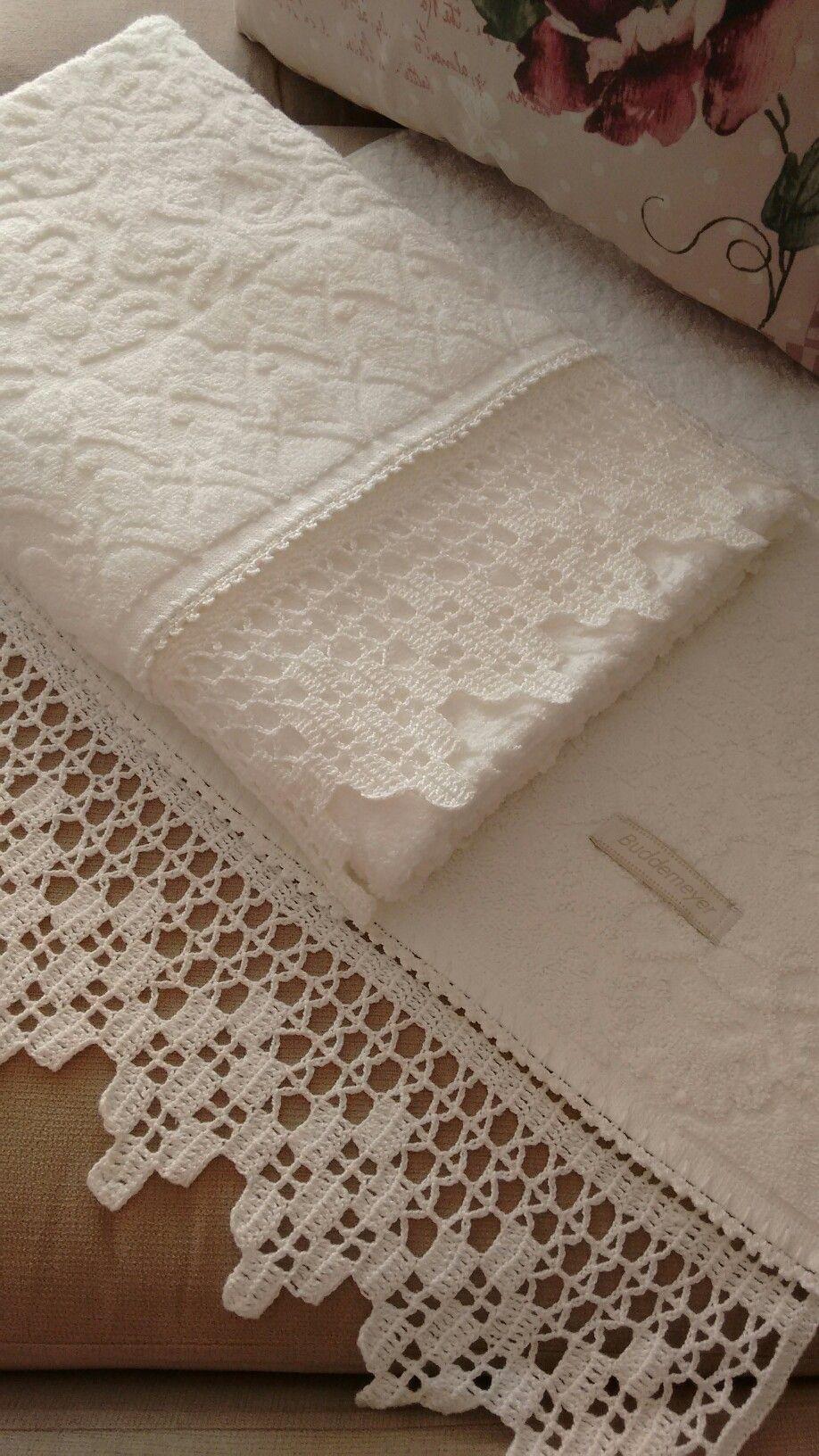 Bico de crochê #CrochetEdging | B O R D U R I | Pinterest ...