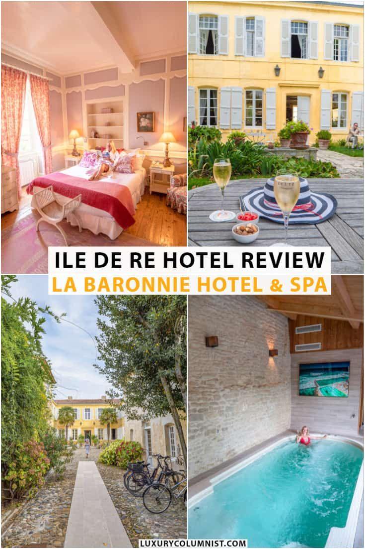 A Luxury Ile de Ré Hotel Review of La Baronnie Hotel