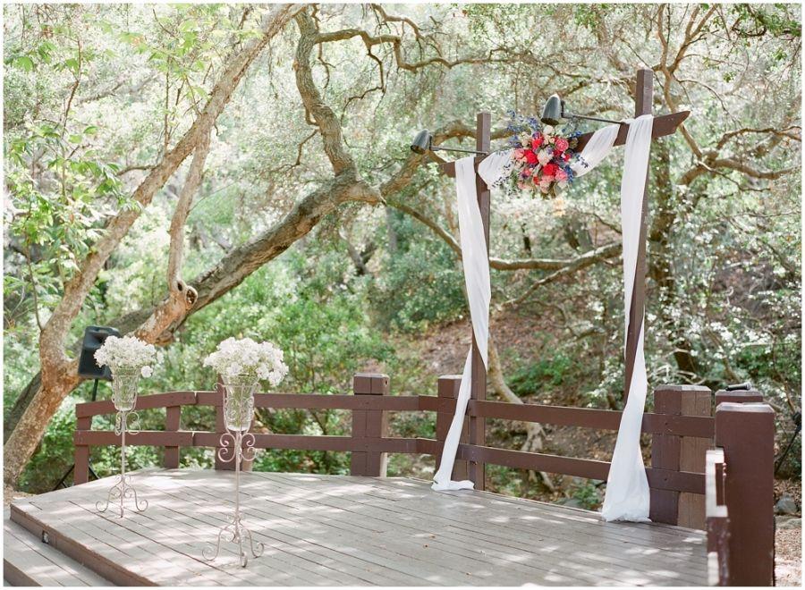 Oak canyon nature center wedding photography michael and
