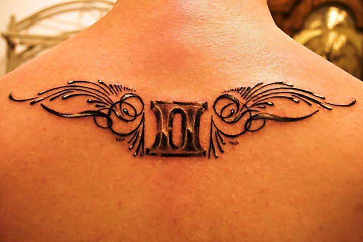 Beautiful Gemini Tattoo Pixies Tattoos Pinterest Gemini