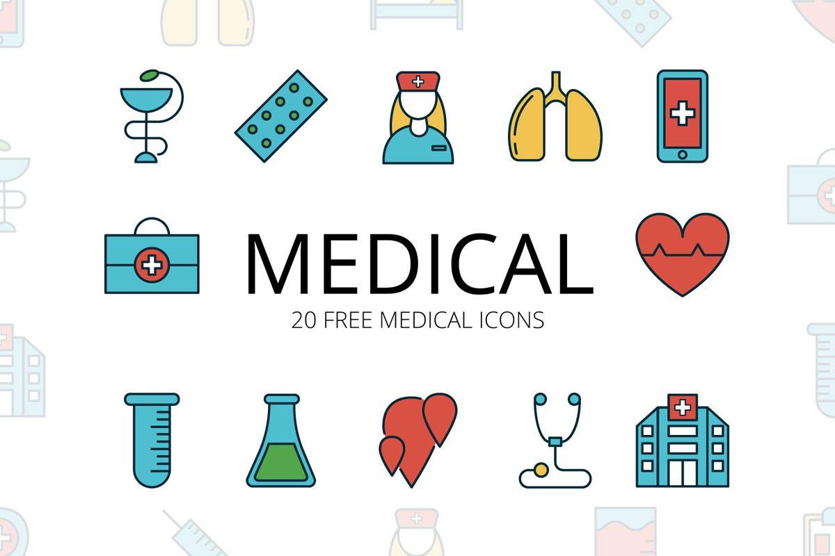 Free Medical Vector Icon Set Vector Free Icon Set Vector Icons