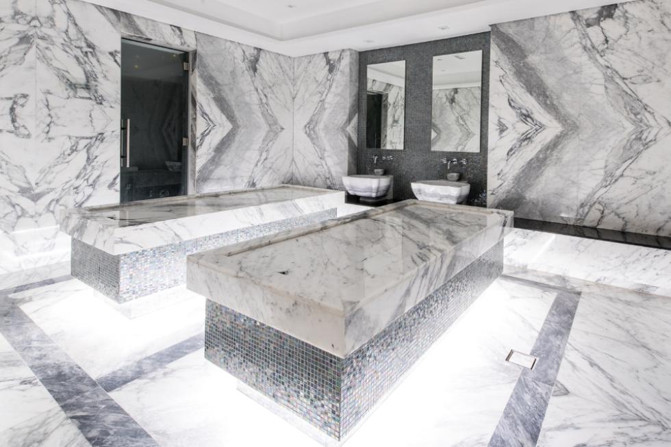 Turkish Cotton Peshtemal Hammam Towel Spa Gym Turkish Bath Indoor Spa Spa Rooms Spa Decor