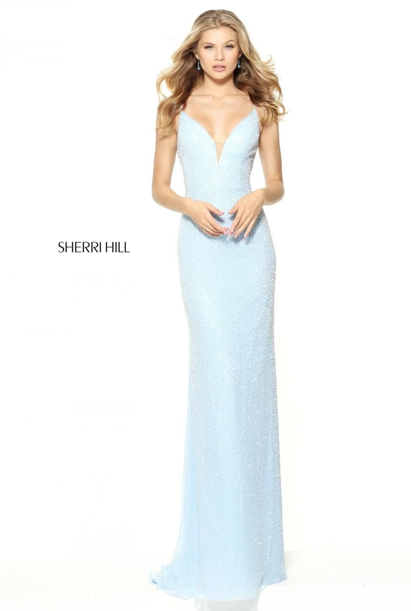 Pin by claire knott on prom & semi | Pinterest | Sherri hill prom ...