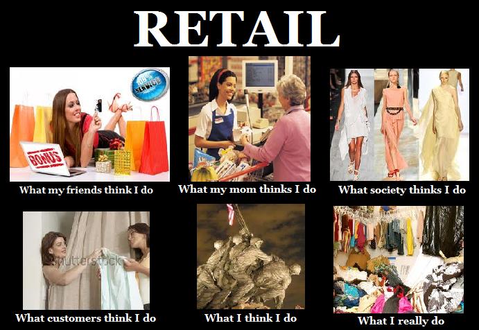 Funny Memes For Retail : Working clothes retail meme fashion pinterest