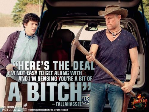 Zombieland Wallpaper Zombieland Movie Quotes Funny Funny Movies Zombie Movies