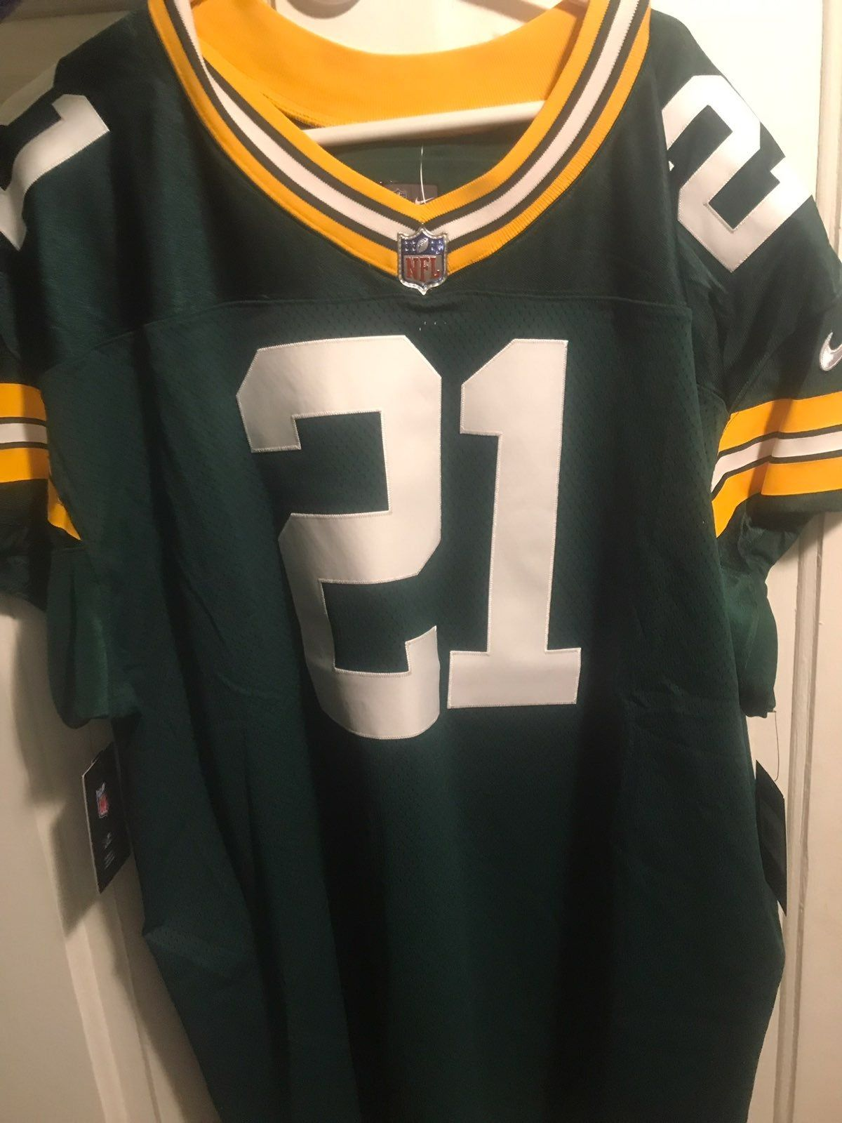 Brand New Green Bay Packers Nike Jersey With The Sewn On Numbers 4xl Nike Jersey Nike Nfl Jersey
