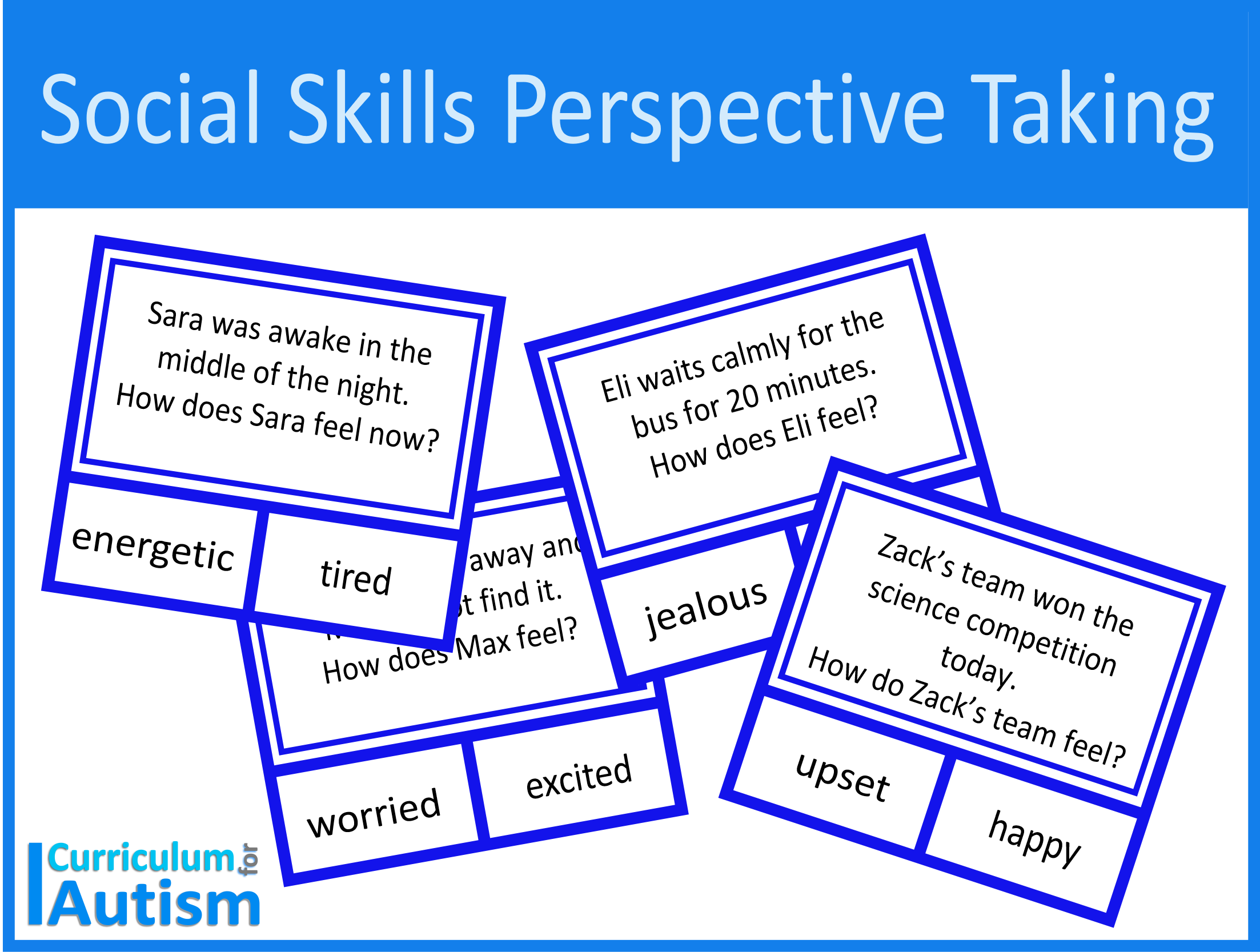 Social Skills Perspective Taking Worksheets Digital
