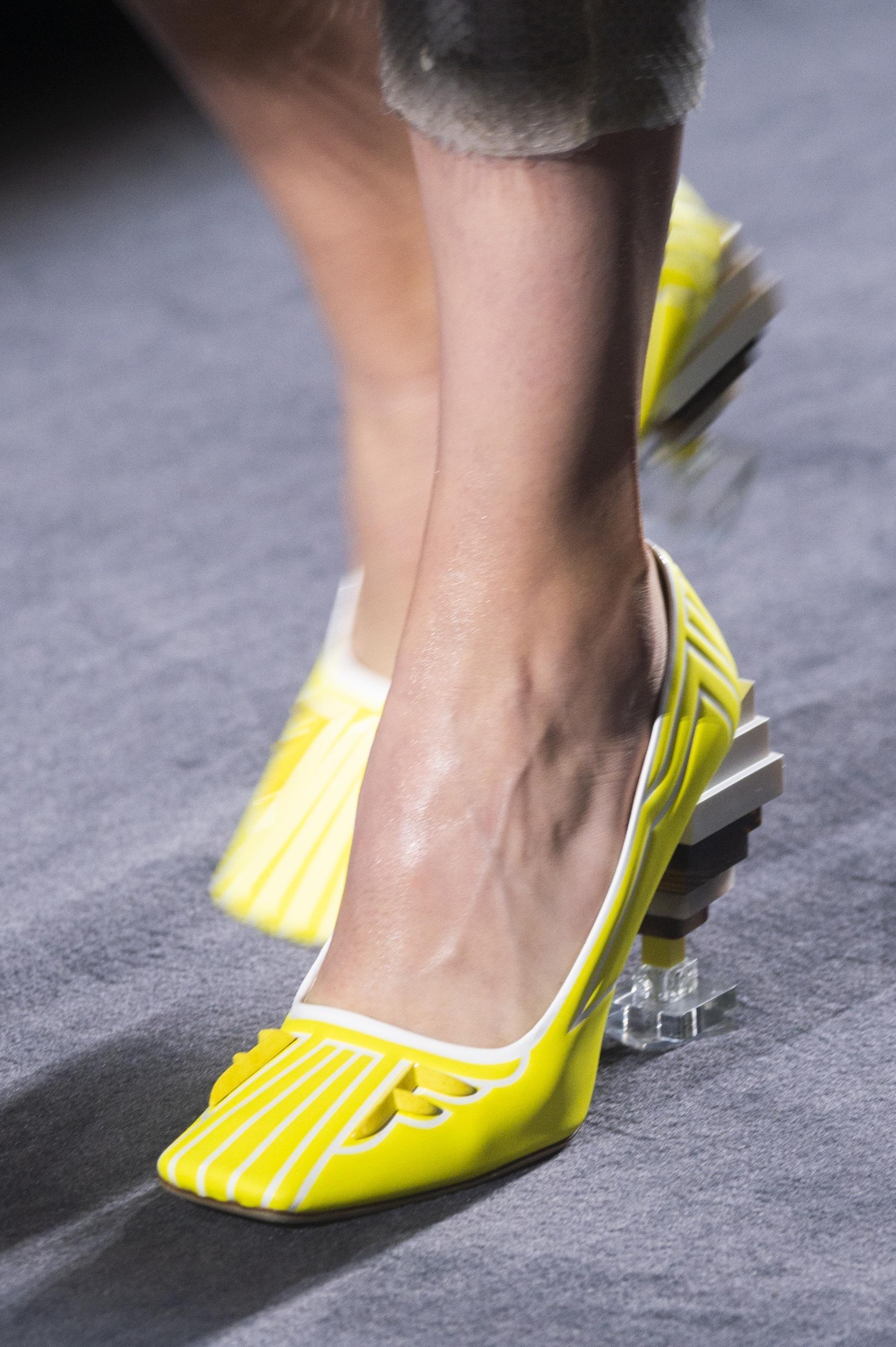 Defile Fendi Automne Hiver 2018 2019 Couture Fendi Trending