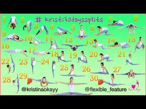 how to do the splits/splits in 30 days  youtube  how to