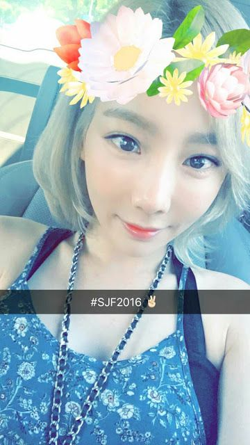 Check out SNSD TaeYeon's updates from the 2016 Seoul Jazz Festival