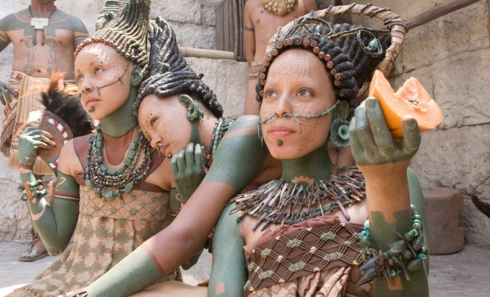 Image result for apocalypto women in city