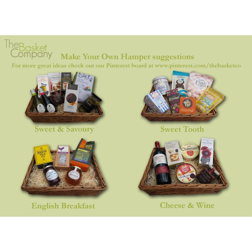 Make Your Own Gift Hamper Suggestions | Gift Hamper Ideas ...