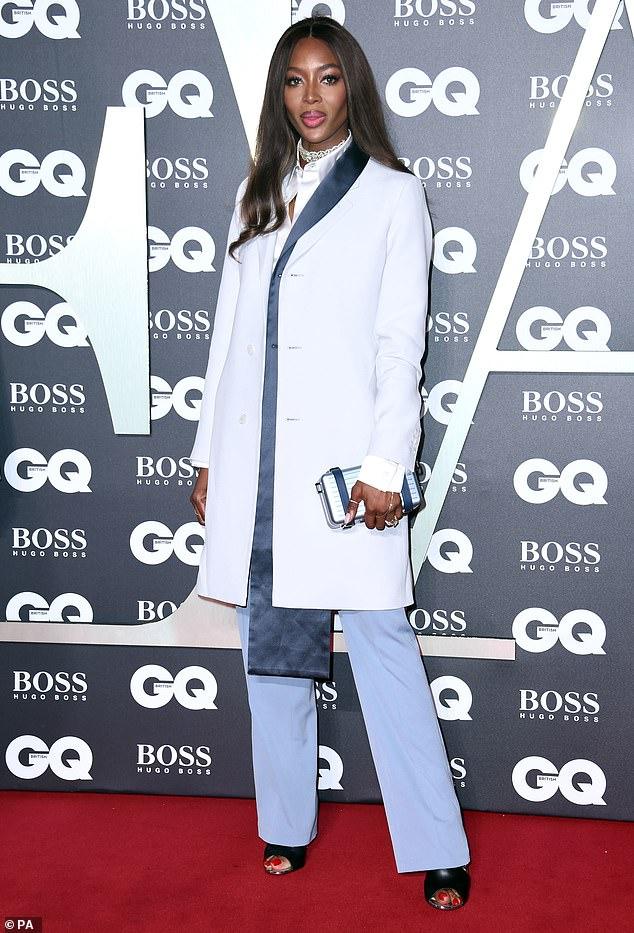 GQ Men Of The Year 2019 Naomi Campbell nails androgynous