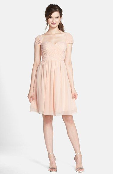 I Love This But In The Right Color Jenny Yoo Riley Convertible Chiffon Dress Available At Nordstrom
