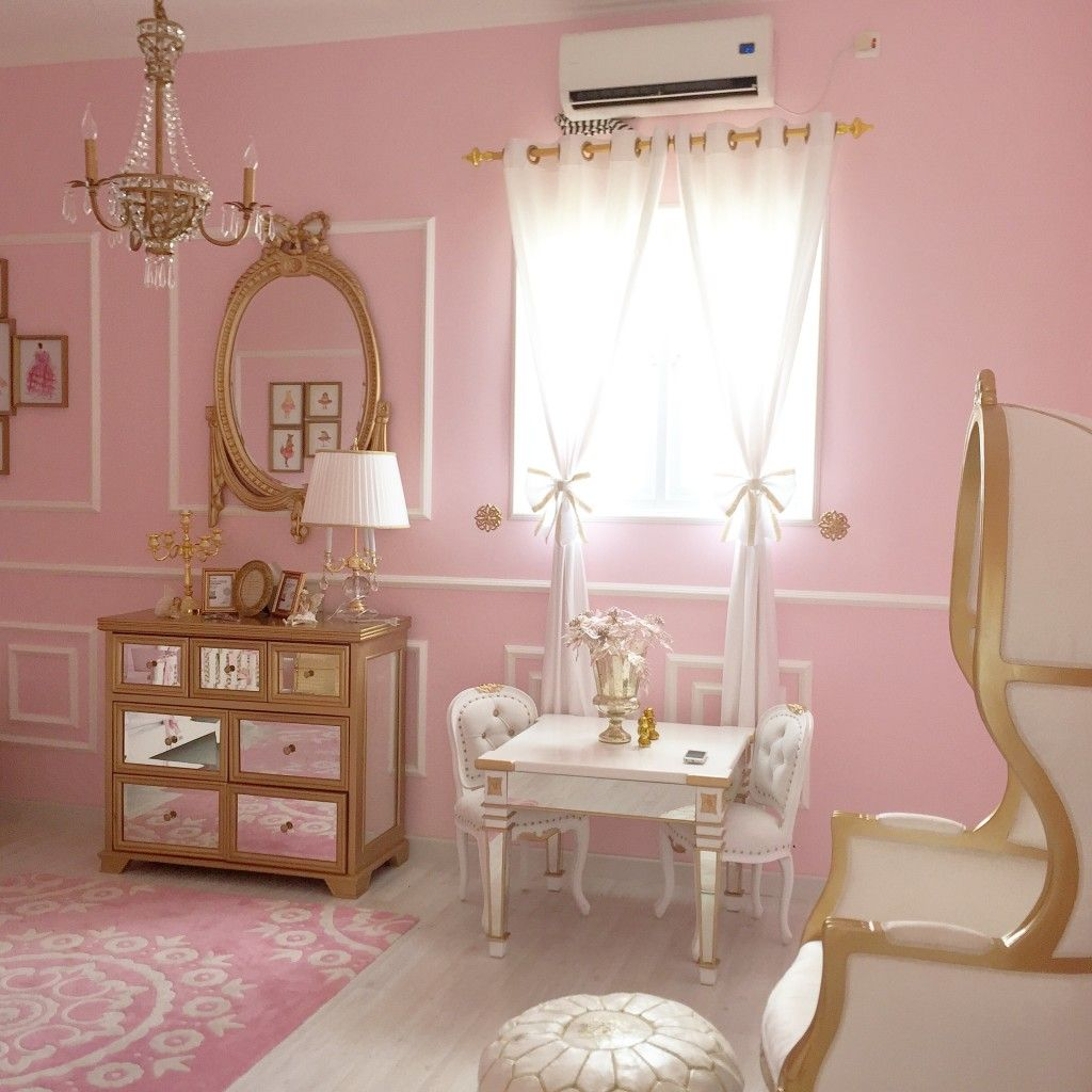 Malona S Pink And Gold Classic Parisian Nursery Project Nursery
