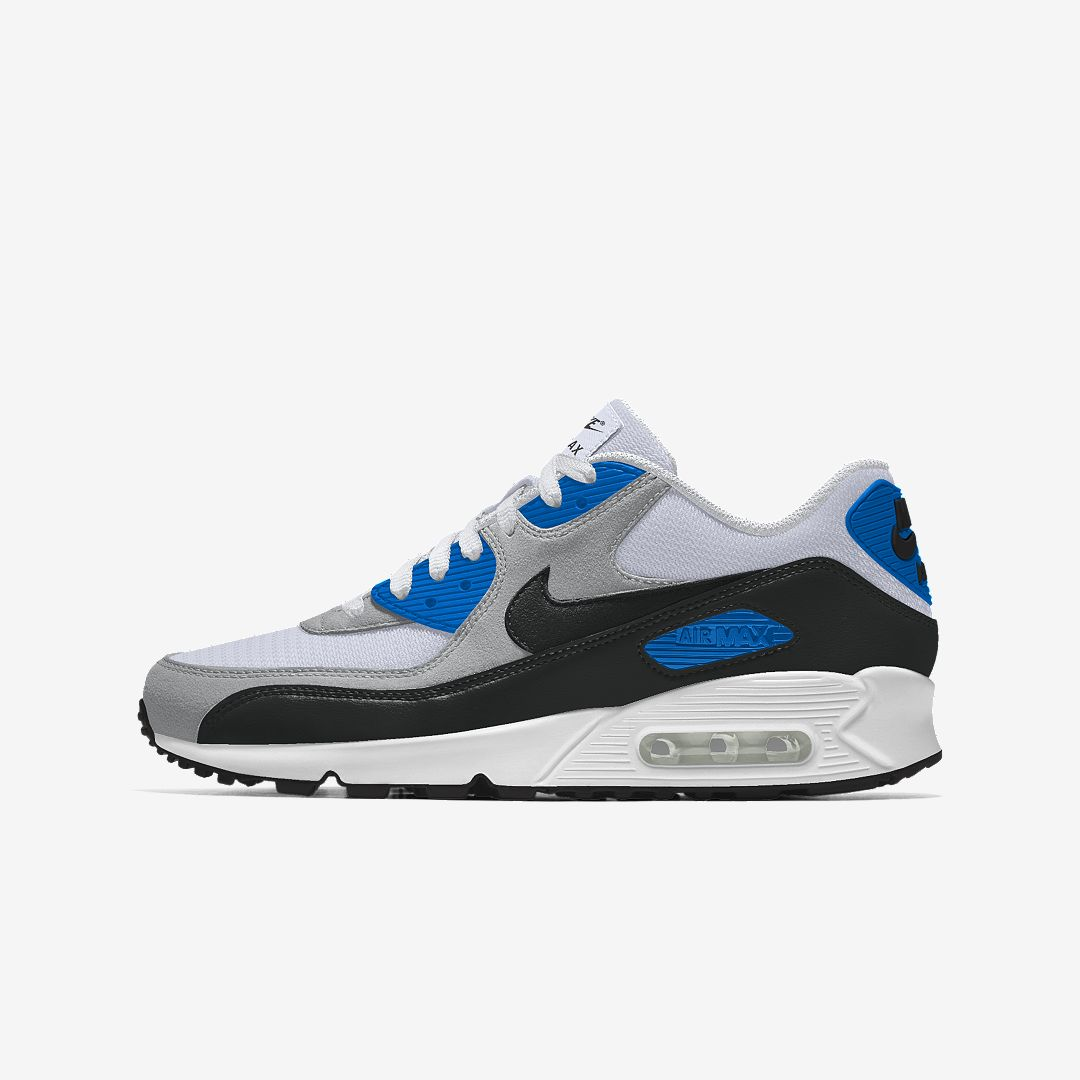 Nike Air Max 90 By You Custom Men's Shoe Size 11.5 (Multi