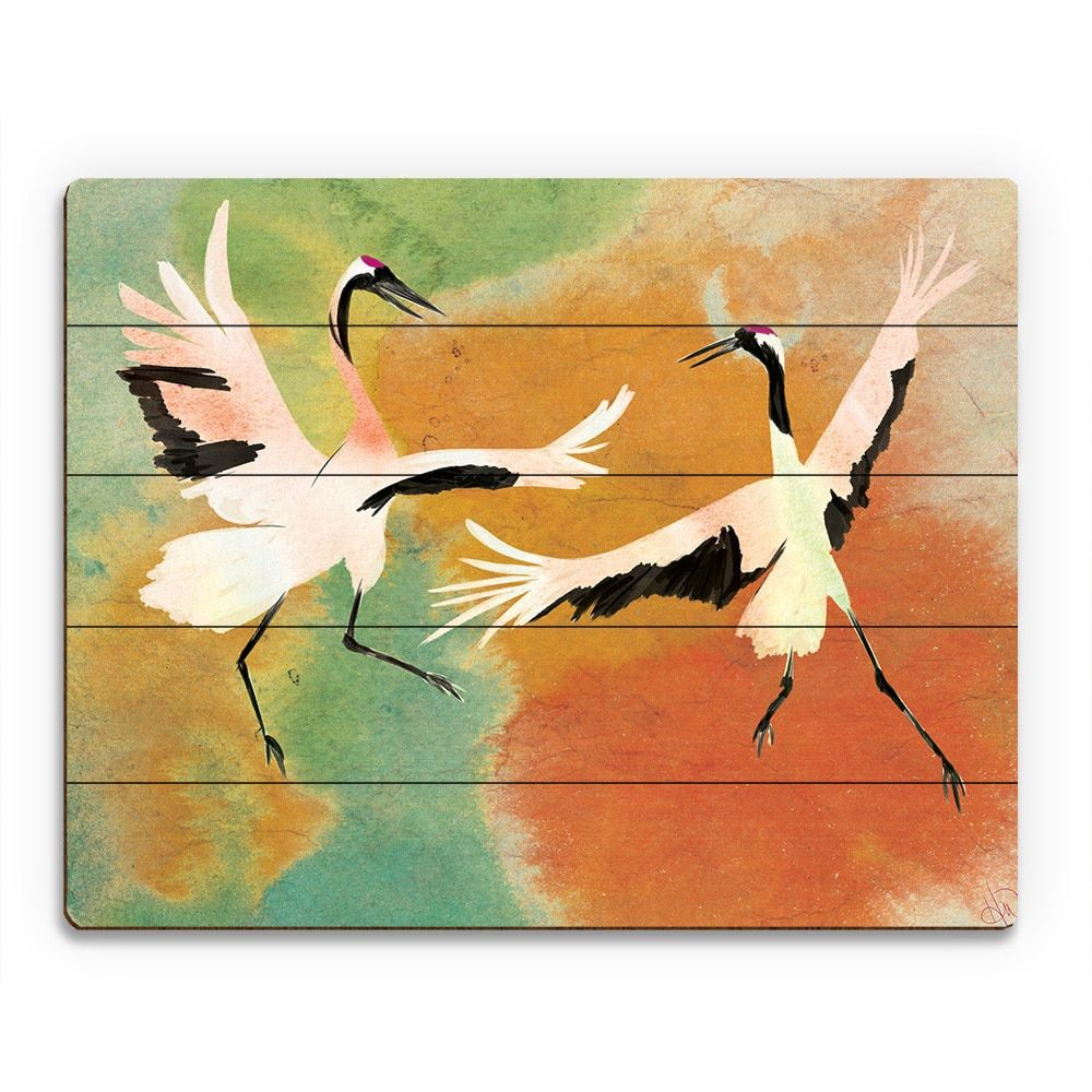 Horizon dancing cranes Искусство pinterest online art gallery