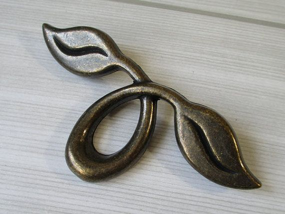 2 dresser pull drawer pulls handles knob antique bronze rustic